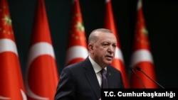 Serokomarê Tirkiyê Recep Tayip Erdogan