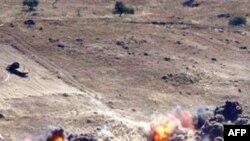 ქურთი მეამბოხეების თავდასხმა თურქ ჯარისკაცებზე