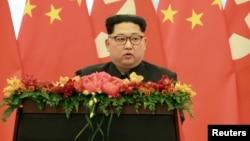 지난해 3월 김정은 북한 국무위원장이 시진핑 중국 국가주석의 초청으로 중국을 비공식 방문했다.