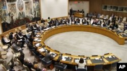Dewan Keamanan PBB dalam pertemuan membahas masalah Iran dan nuklir. (Foto: Dok)