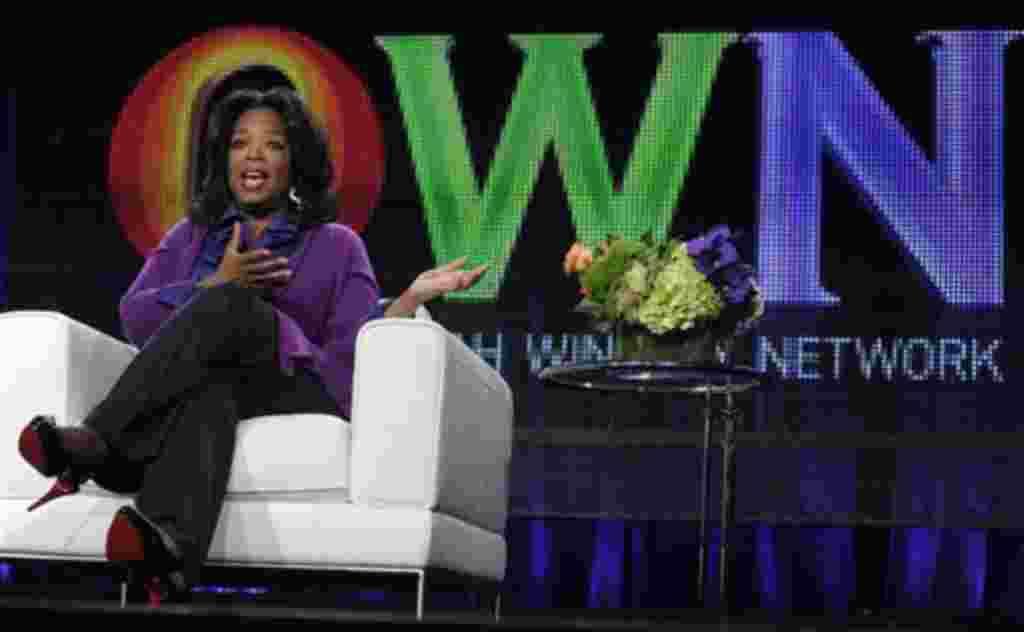 Aunque a nivel mundial, incluido EE.UU., las mujeres en el cine, televisión y prensa ocupan solo alrededor de un 30% de los trabajos, Oprah Winfrey ha logrado crear su propia cadena televisiva.