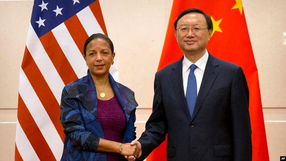 美國國家安全事務助理賴斯訪問北京