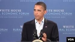 El presidente dijo que es necesario emprender más esfuerzos para mejorar la economía de las comunidades rurales.