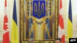 Янукович за вільну торгівлю з Канадою, а Голодомор називає злочином