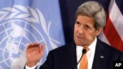 Menlu AS John Kerry mengatakan akan melanjutkan kembali proses perdamaian Israel-Palestina (foto: dok).