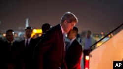 امریکی وزیر خارجہ جان کیری
