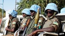 Binh sĩ trong lực lượng gìn giữ hòa bình Liên hiệp quốc