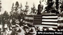 1929 Grand Teton Dedication