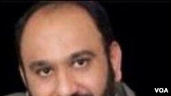 Mehdi Khazali, blogger terkenal pengritik kebijakan Presiden Ahmadinejad.