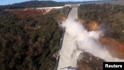 REUTERS Dam Burst in California