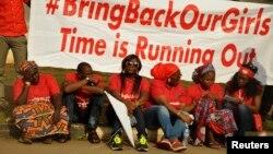 Masu fafitikar ganin an dawo da 'yan matan Chibok