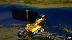 图为这颗高层大气研究卫星的概念图资料图