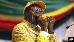 Zimbabwe President Robert Mugabe. File Photo.