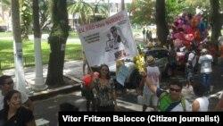 Manifestação em Belém do Pará, no Brasil (imagem de arquivo)