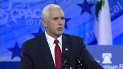Pence Downplays Legislators' Town Hall Protests Over 'Obamacare'