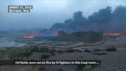 IS Fighters Fleeing Iraq Leave Carnage Behind