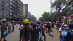 Поліція у М'янмі продовжує використовувати силу проти мітингувальників. Відео