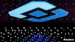 The logo of Russia's state communications regulator, Roskomnadzor, is reflected in a laptop screen in this picture illustration taken February 12, 2019. REUTERS/Maxim Shemetov