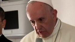 Papa fala dos abusos sexuais de padres contra freiras