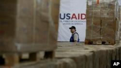 USAID tashkilotining gumanitar yordam yuki. Arxiv.