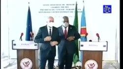 Biyano bya Tshisekedi na Charles Michel na bapanzi sango na Kinshasa