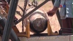 Đội lặn tìm bom Campuchia thực hiện hành công nhiệm vụ đầu tiên