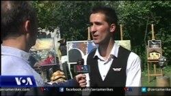 Tiranë: Mërgimi hyn në veprat e piktorëve të rinj