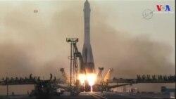Uzay İstasyonu'na Üç Yeni Mürettebat