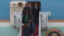 奧巴馬結束拉美之行啟程返國
