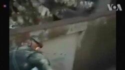 La police guatémaltèque sauve une petite fille après une éruption volcanique (vidéo)