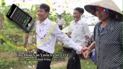 Ông Đoàn Văn Vươn được chào đón như người hùng