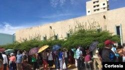 Jornada de vacunación contra COVID-19 en BanZul, Maracaibo, Venezuela, el 29 de julio de 2021. Foto cortesía.