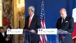 2015-03-08 美國之音視頻新聞: 克里稱伊朗核會談取得進展但仍有差距