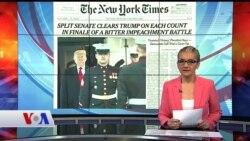 6 Şubat Amerikan Basınından Özetler