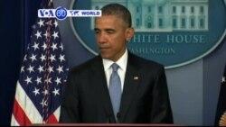 VOA60 DUNIYA: A Birnin Washington Ne Shugaban Kasa Amurka Barack Obama Yace, Afrilu 23, 2015
