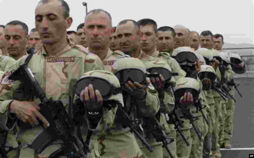ქართველი ჯარისკაცები ავღანეთში