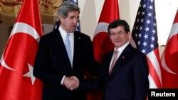 وزرای خارجه امریکا و ترکیه