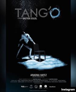 """Poster """"Tang'O"""" di akun Instagram seniman Perancis Bastien Solei, sutradara film ini. (Foto: IG/bastien_soleil)"""