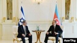 Azərbaycan Prezidenti İlham Əliyevin İsrailin Baş naziri Benyamin Netanyahu ilə təkbətək görüşü olub