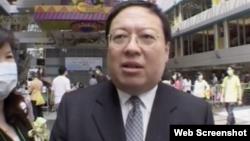 香港中华能源基金委员会秘书长何志平(视频截图)
