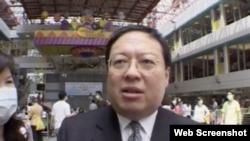 香港中華能源基金會秘書長何志平(資料照片)
