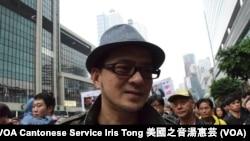 香港歌手黃耀明 (攝影:美國之音湯惠芸)