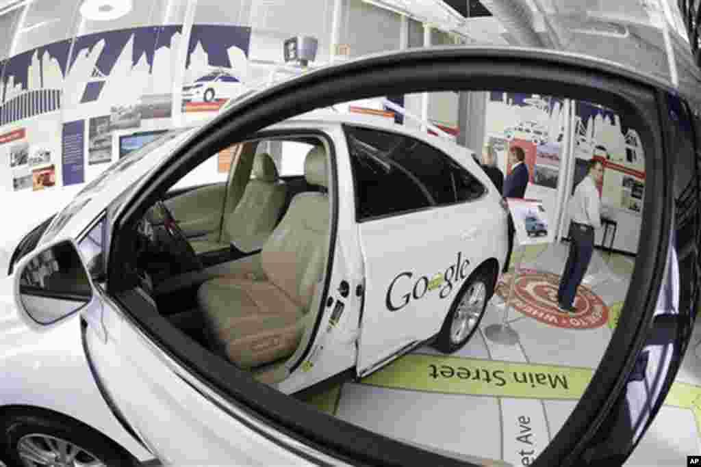 گوگل کی خودکار گاڑی