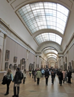 "The Louvre's ""Grande Galerie"""