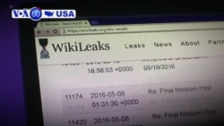 VOA60 America - US Charges WikiLeaks Founder Assange After London Arrest