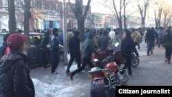 More than 1000 Chabcha Tibetan Medical School students take to the streets to protest Chinese authorities.