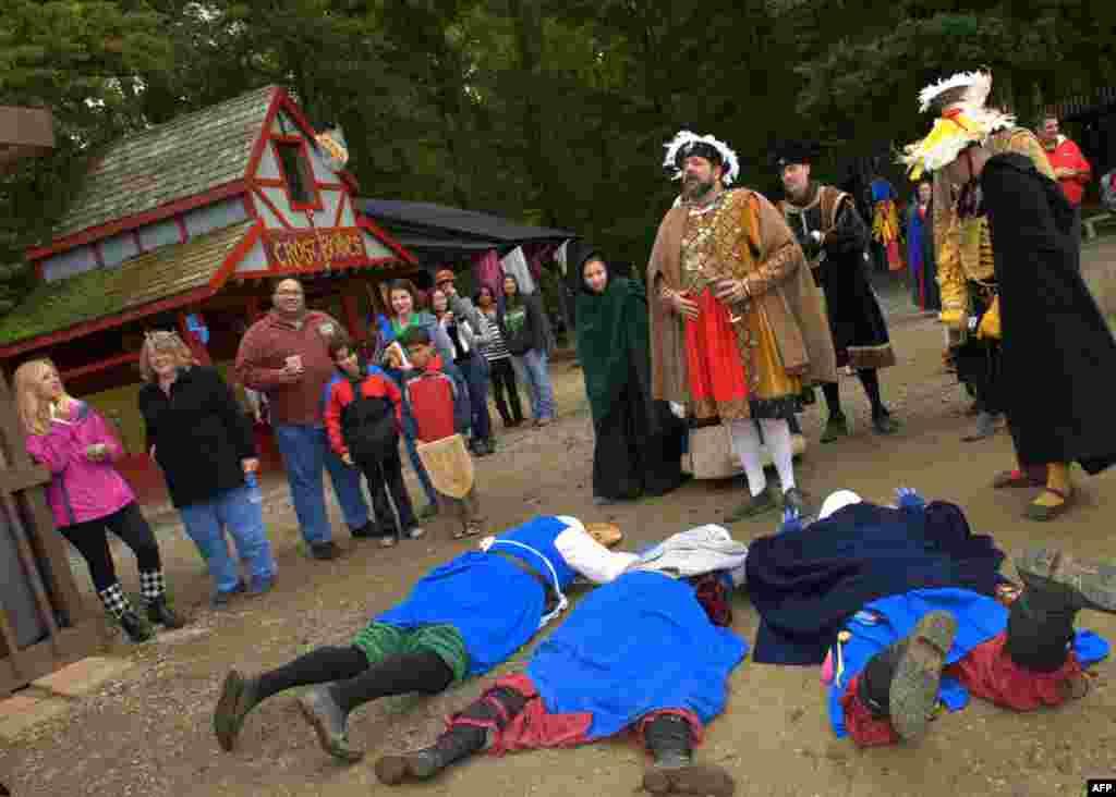 Рыцарский дух «Ренессанс-фестиваля»