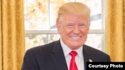 Le Le président américain Donald Trump à la Maison Blanche, Washington, 1er décembre 2017.