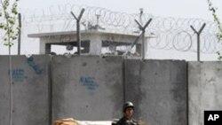 د کندهار د زندان بیرون