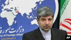 رامین مهمان پرست سخنگوی وزارت خارجۀ ایران